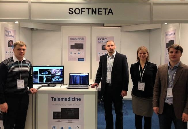 softneta medical imaging solutions and dicom viewer in ECR