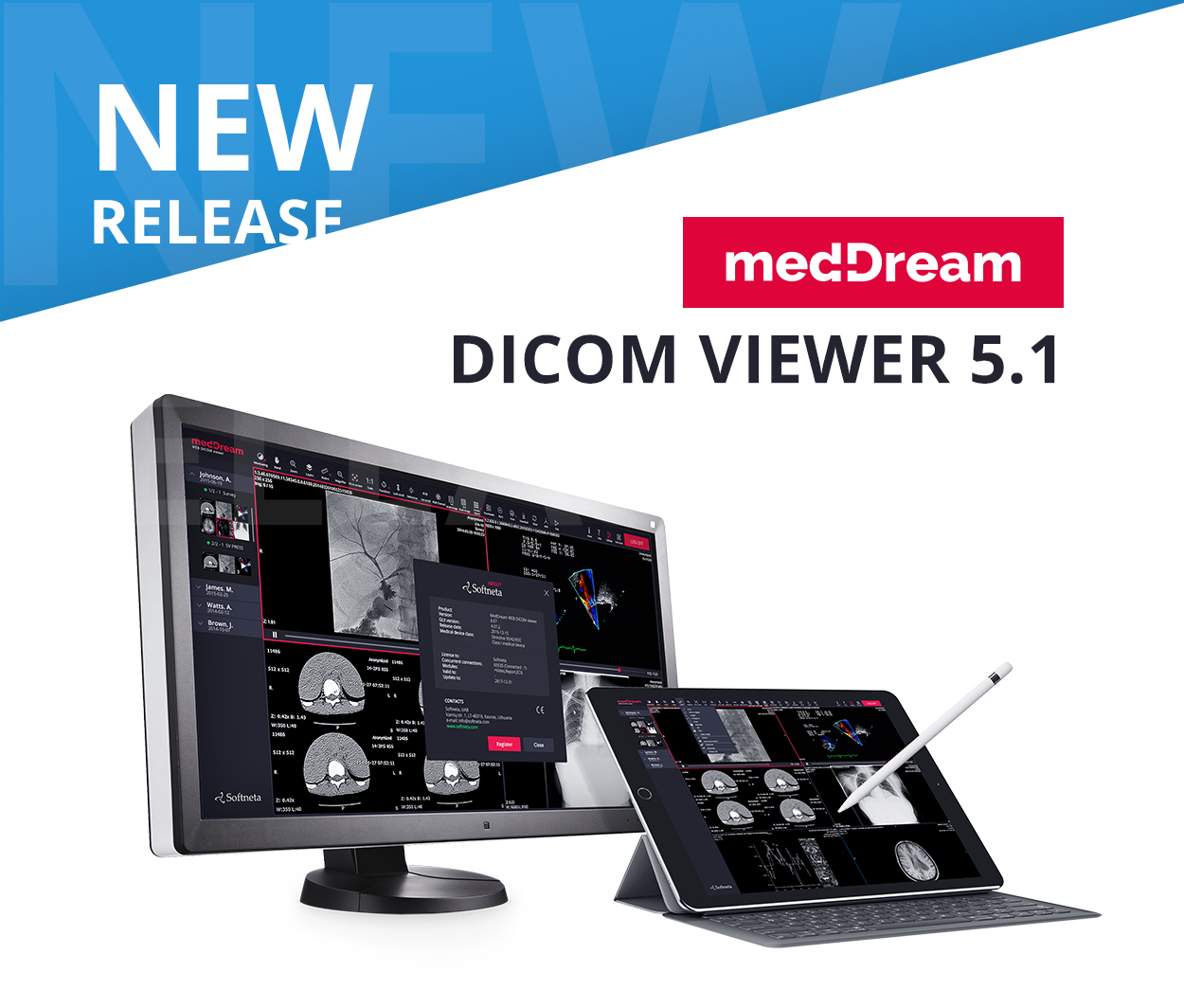 web based MedDream DICOM Viewer New Realease