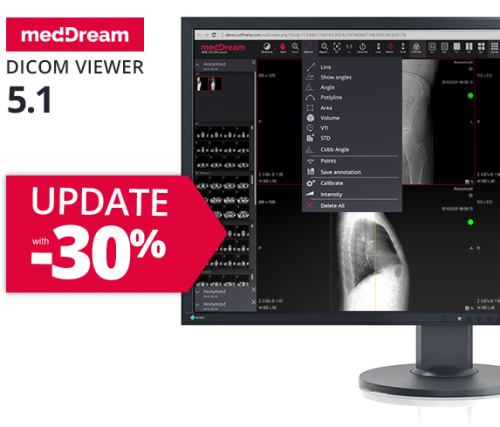 Update medDream dicom viewer