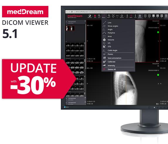 Update medDream dicom viewer