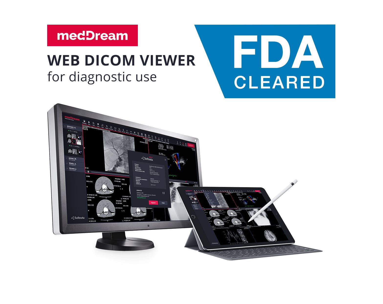 meddream dicom viewer fda cleared