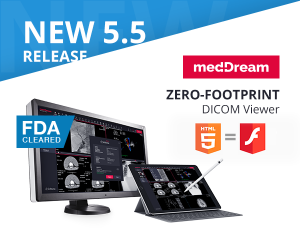 MedDream html5 dicom viewer New Release 5.5