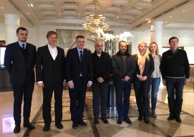 Softneta medical imaging solutions meeting with Oman MAF representatives
