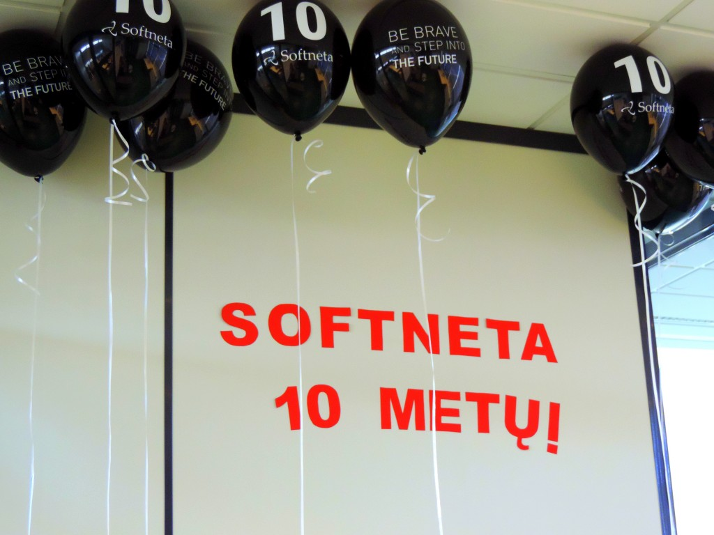 10th B-day Softneta