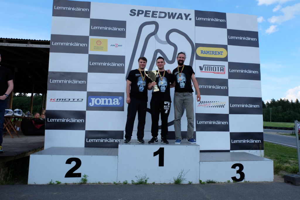 Go-kart cup 2017 winners Softneta