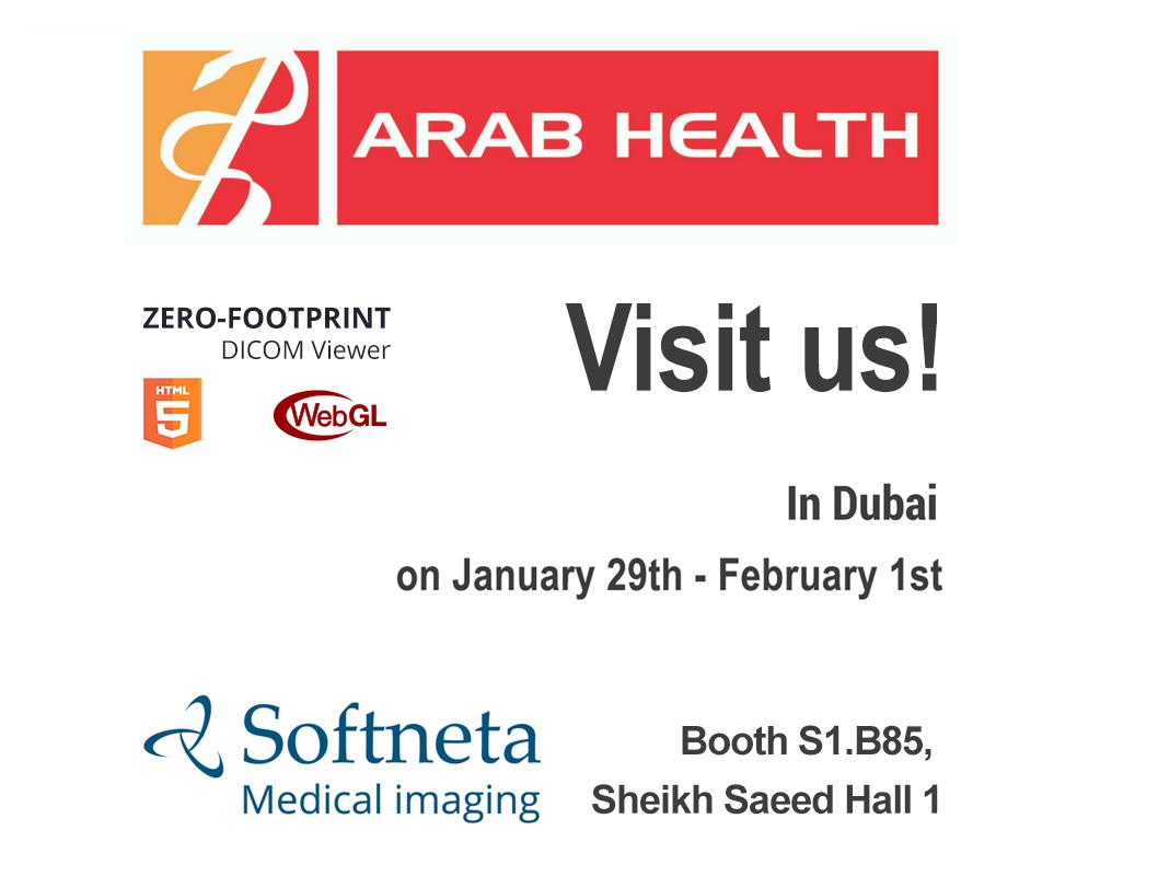 softneta medical imaging in Arab Health 2018