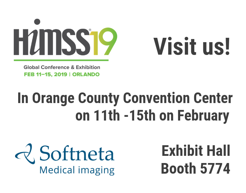 HIMSS 2019 Softneta meddream dicom viewer