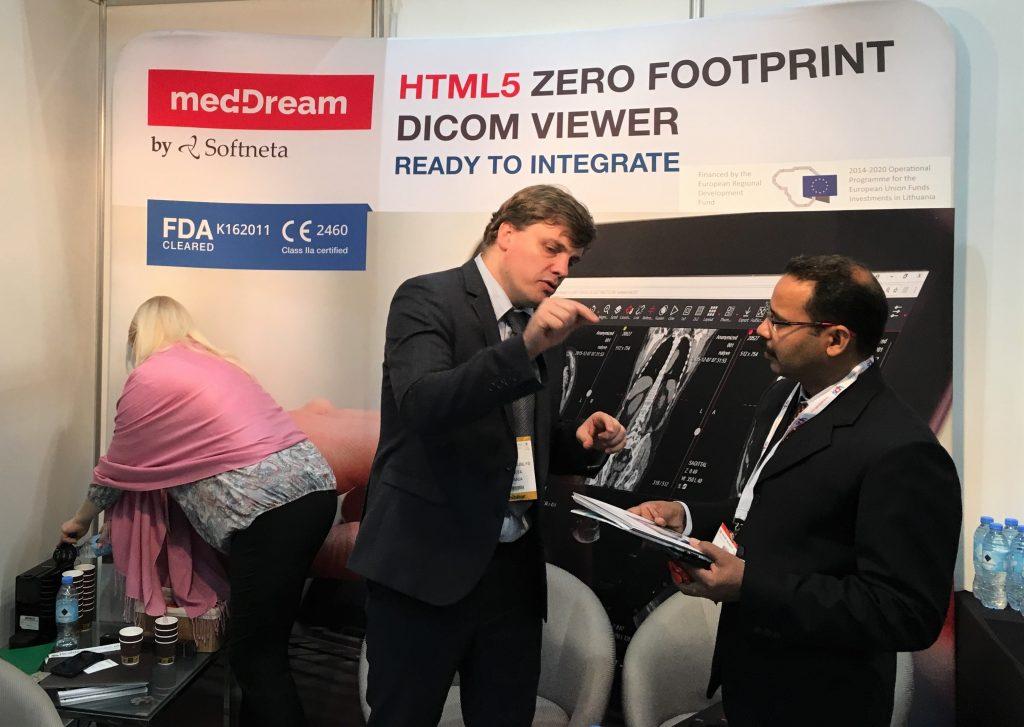 Meddream dicom viewer softneta team arab health
