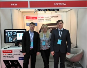 Meddream dicom viewer softneta exhibition arab health