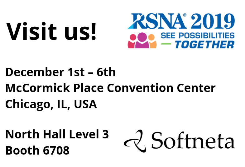 Softneta medical imaging At RSNA 2019