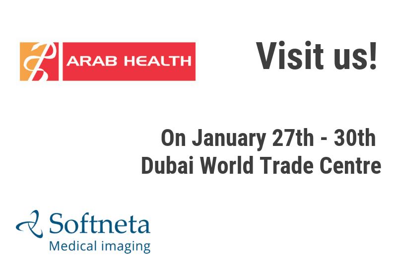 Softneta medical imaging arab Health