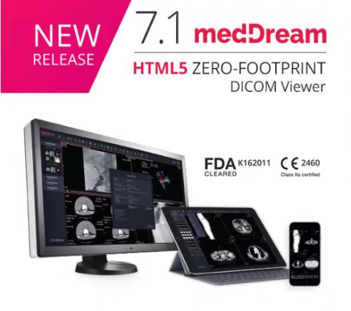 meddream dicom viewer new release 7.1