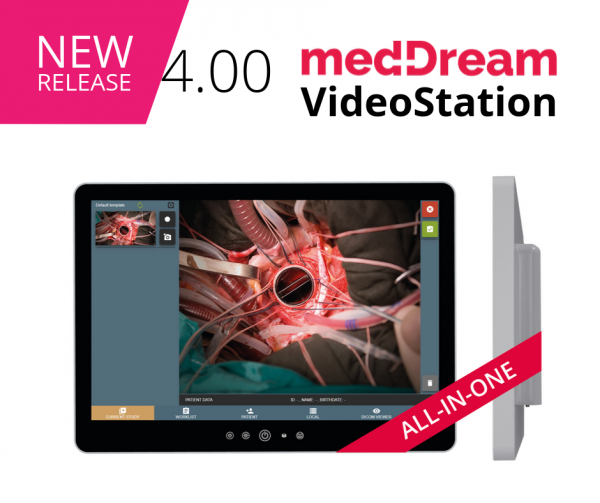 MedDream VideoStation Recording Medical Video