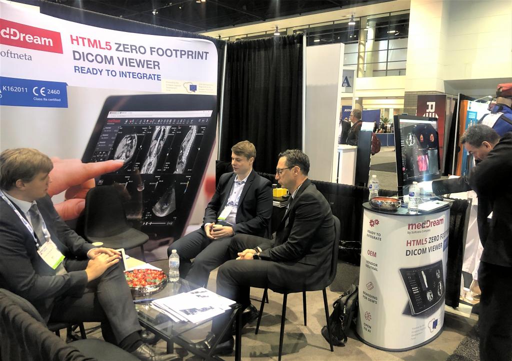 Softneta At RSNA With Dicom Systems