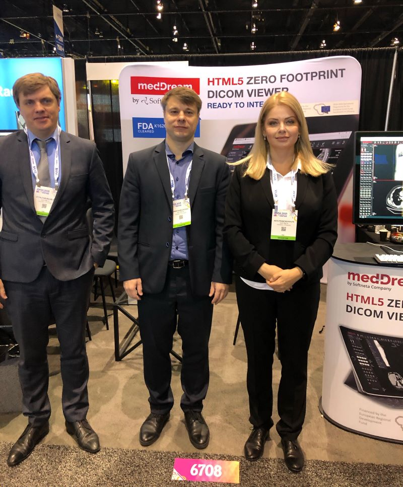 Softneta At RSNA19 Team