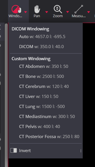 Meddream Dicom Viewer Windowing