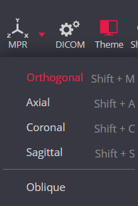 Meddream Dicom Viewer Orthogonal