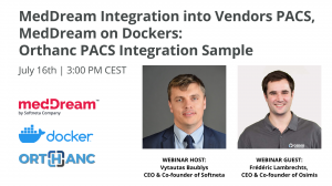 Softneta Webinar Meddream For Orthanc And Docker