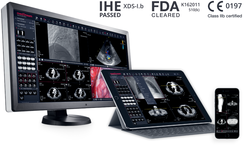 Dicom Viewer MedDream All Devices All Modalities With Ihe Web
