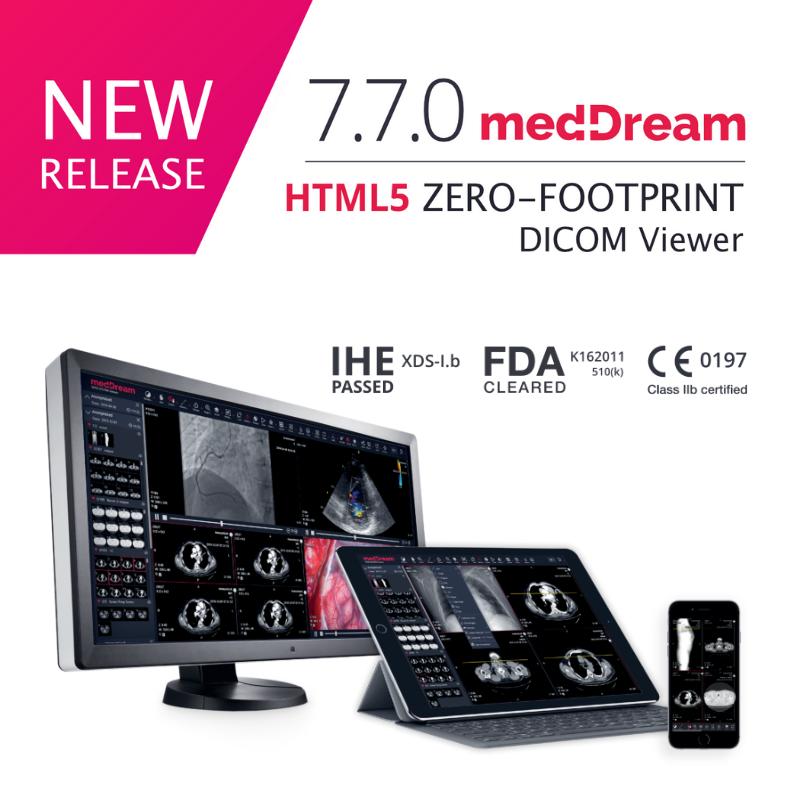 MedDream DICOM Viewer 770 New Release