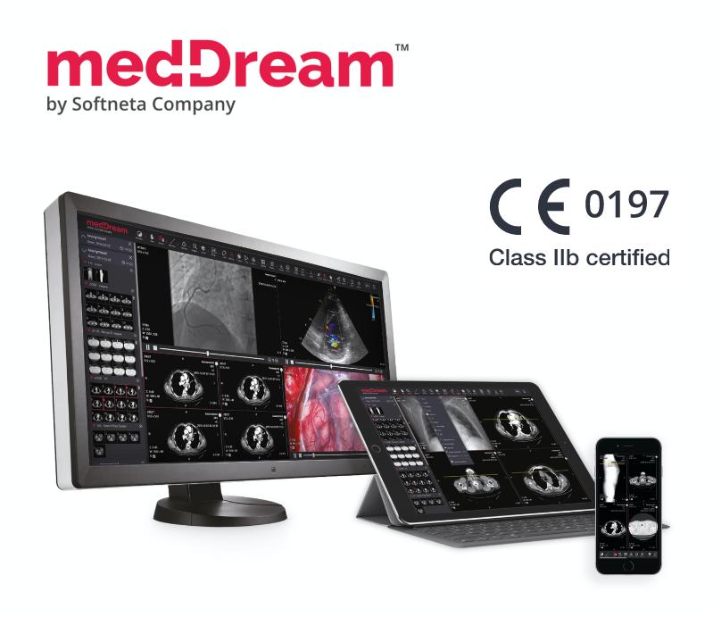 MedDream By Softneta DICOM Viewer Certified CE Class IIb