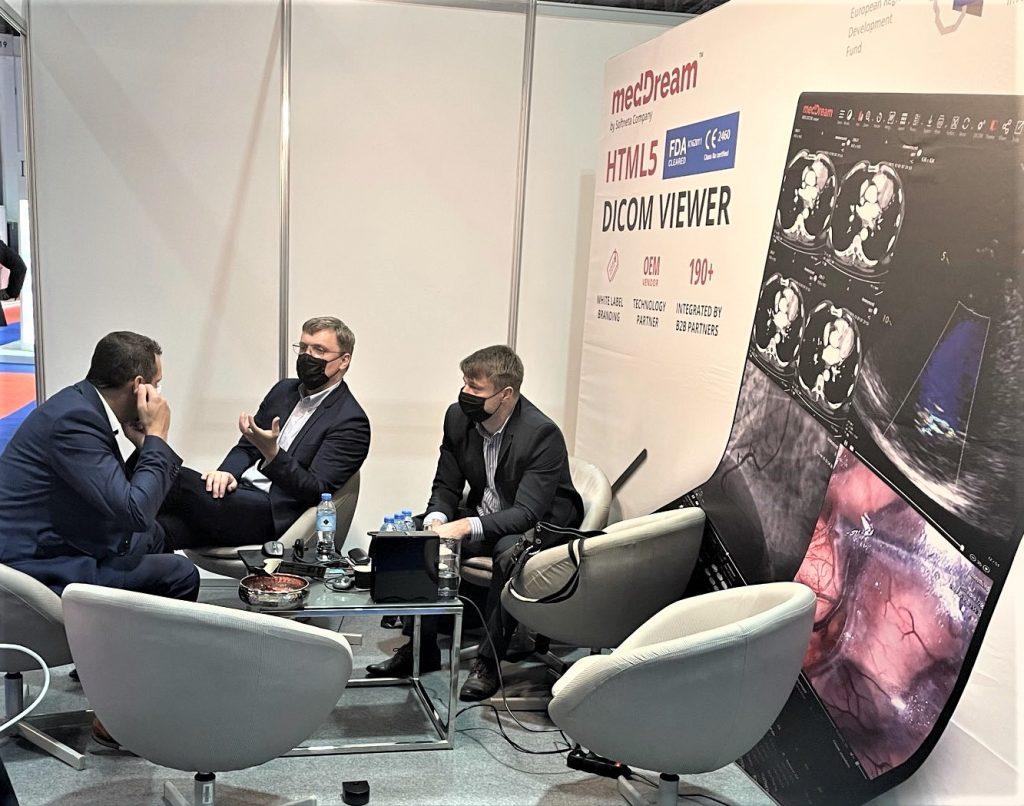 Softneta Meddream At Arab Health Exhibition Onsite